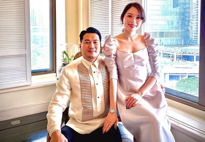 Linh Rin và bạn trai Phillip Nguyễn.