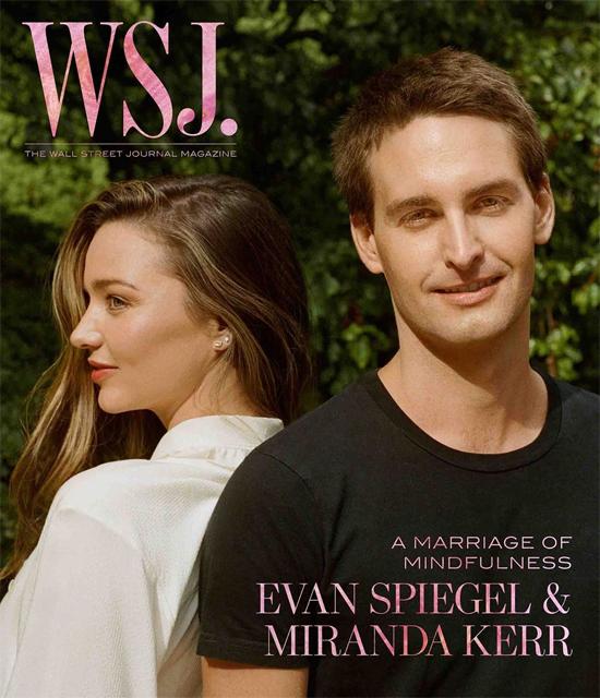 Miranda đã bật đèn xanh cho Evan Spiegel sau buổi gặp đầu tiên.