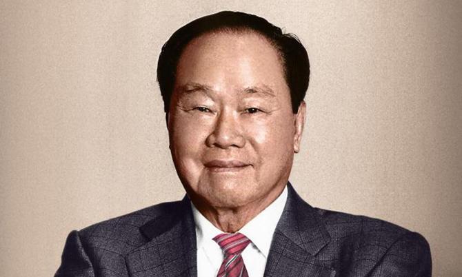Tỷ phú Eka Tjipta Widjaja, nhà sáng lập quá cố tập đoàn Sinar Mas. Ảnh: Forbes.