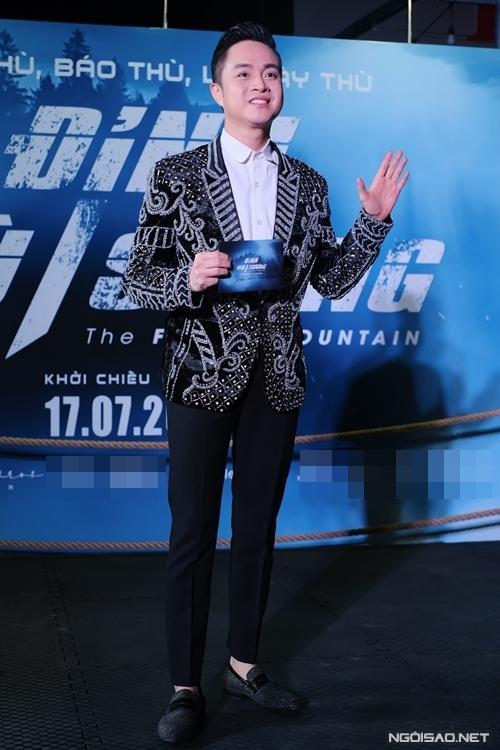 Ca sĩ Nhật Tinh Anh hiếm hoi dự công chiếu phim điện ảnh.