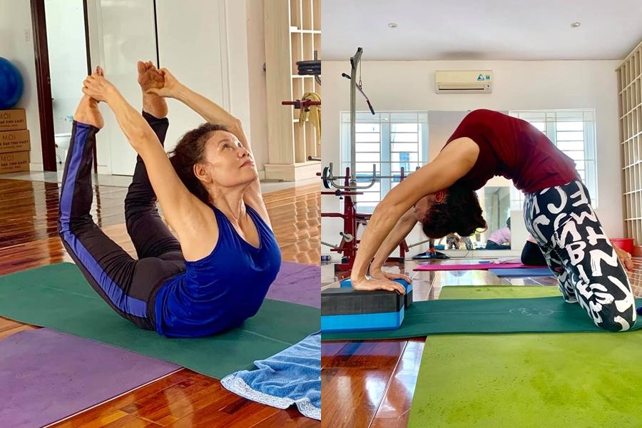 Để có được sức khỏe tốt và thân hình dẻo dai ở tuổi 63, mẹ của Hồ Ngọc Hà theo đuổi bộ môn yoga nhiều năm qua. Mỗi sáng, hai mẹ con thường tập luyện yoga tại nhà. Kiên trì theo năm tháng với tình yêu yoga mãnh liệt, cộng với suy nghĩ tích cực sống. Tôi luôn yêu cuộc sống này, yêu tất cả những gì mà cuộc sống ban tặng dù là điều nhỏ nhất, bà Ngọc Hương bày tỏ.