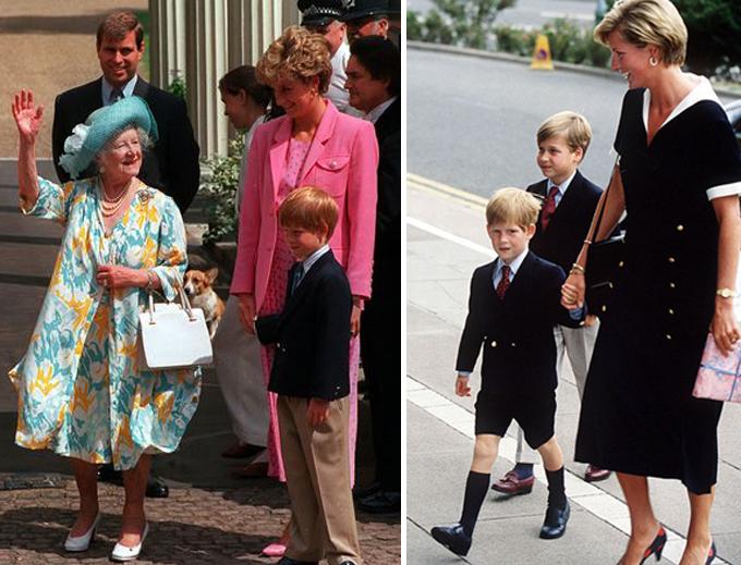 Diana từng đau đớn trước sự đối xử thiên vị giữa William và Harry - 2