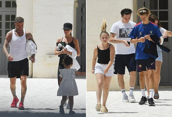 Daily Mail cho biết, cả nhà cựu danh thủ Anh cùng con dâu tương lai Nicola Peltz tới xứ sở mỳ ống từ tuần trước. Cả nhà nhanh chóng tới nông trang riêng tư ở Puglia gần bờ biển