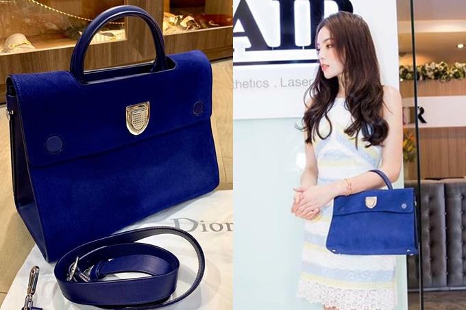 Kỳ Duyên nổi tiếng là mỹ nhân sở hữu bộ sưu tập hàng hiệu đình đám của showbiz Việt. Cô thường chi mạnh mua sắm loạt món đồ đến từ các thương hiệu nổi tiếng.