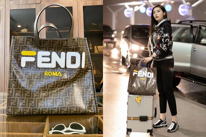 Mẫu túi Fendi này được Hoa hậu Việt Nam thanh lý với giá hạt dẻ, chỉ 22 triệu đồng và giảm một nửa so với giác gốc.