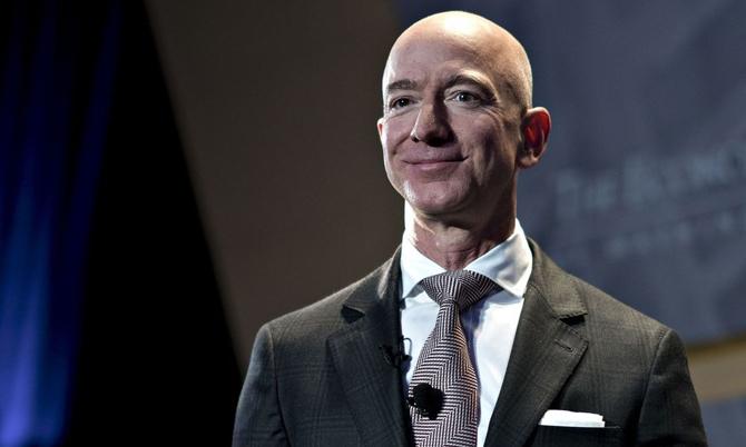 Jeff Bezos, nhà sáng lập, CEO Amazon. Ảnh: Bloomberg.