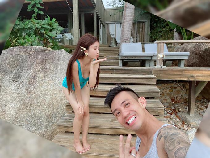 Vợ chồng Minh Nhựa check in resort  - 20