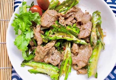 Thịt bò xào đậu rồng - 4