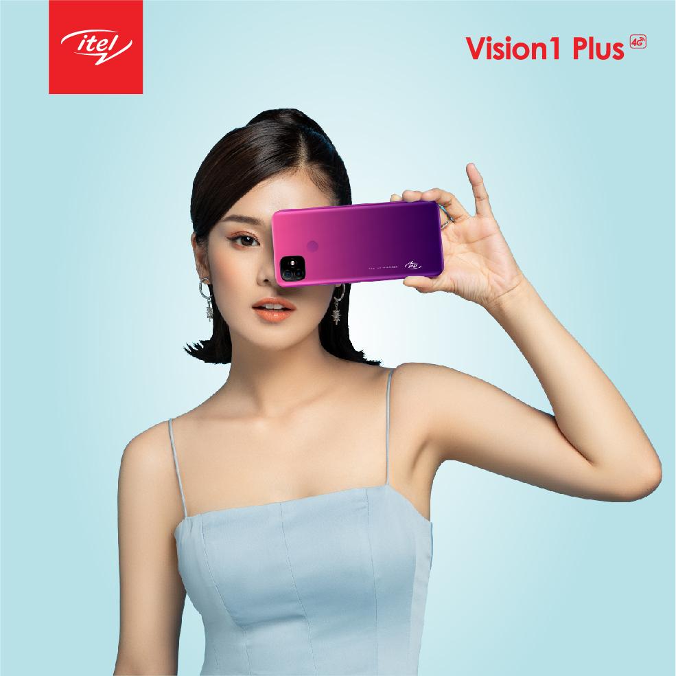Vision 1 Plus sở hữu thiết kế đẹp với nhiều màu sắc.