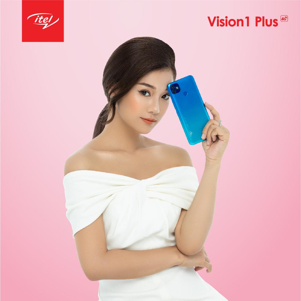 Mẫu điện thoại thông minh mới của itel Mobile thích hợp với mọi phong cách từ duyên dáng tới năng động, cá tính.