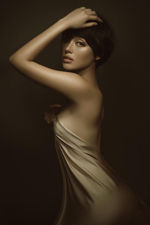 Được phát hiện từ cuộc thi The Face mùa đầu tiên, Khánh Linh nhanh chóng gây được sức hút bởi gương mặt ăn ảnh, phong cách trẻ trung.