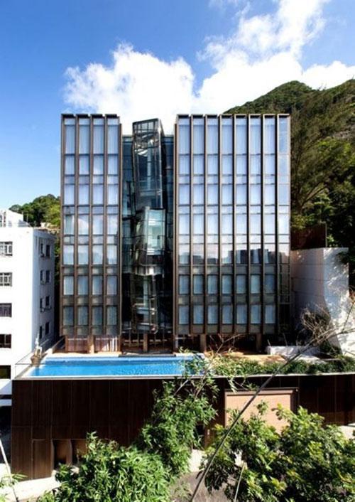 Ngôi nhà nằm trên đường Tai Hang, Happy Valley, diện tích tổng lên đến 1.832 m2.