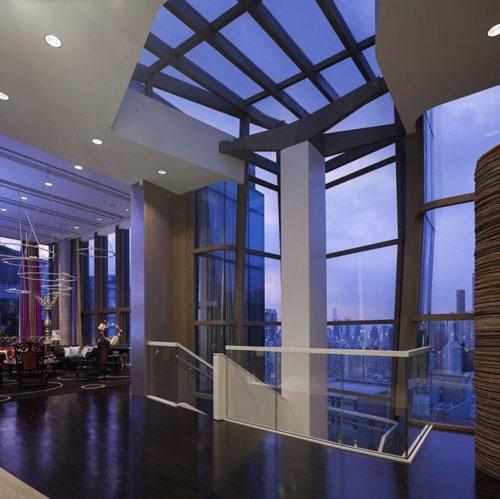 Phòng khách được đặt tại tầng 6 tòa nhà.
