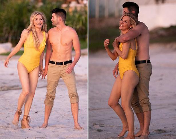 Theo Mail, người đẹp 34 tuổi hẹn hò Nathan Levi khoảng bốn tháng nay. Đây là lần đầu tiên hai người xuất hiện cùng nhau.