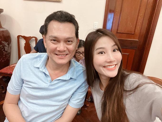 Diễm My hào hứng khi được đóng chung cùng nghệ sĩ Hữu Châu trong dự án mới.