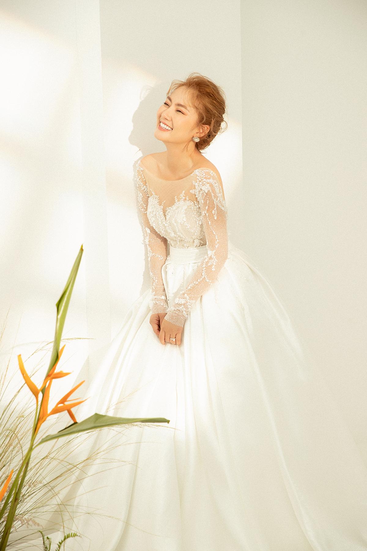 Ngọc Lan hóa nàng thơ cho tiệm áo cưới nước Úc - 12