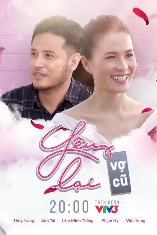 Anh Tài và Thùy Trang đóng chính hai tập phim Yêu lại vợ cũ.