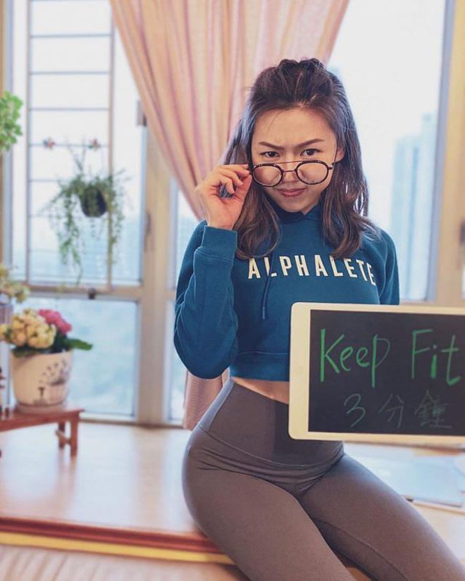 Zoe Li tuyên bố với gia đình, bạn bè rằng cô đang giảm cân.
