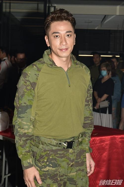 Diễn viên TVB Ngô Trác Hy.