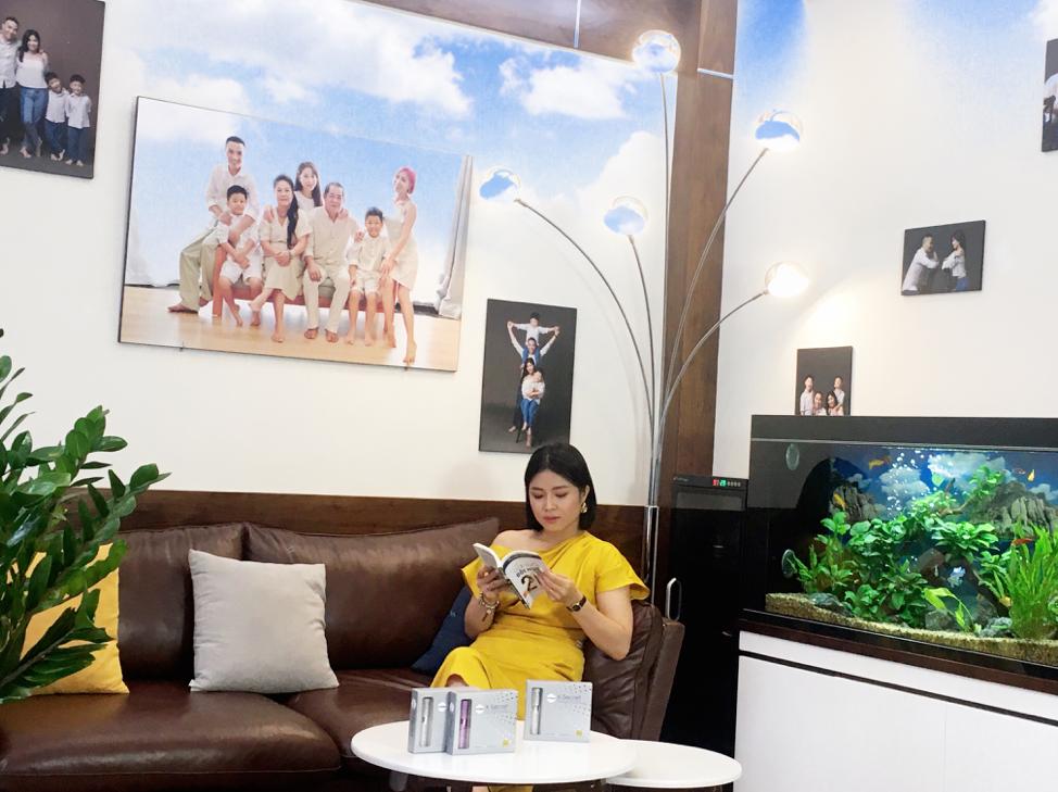 Bên cạnh nhan sắc, MC Hoàng Linh còn lo lắng vấn đề phụ khoa thường gặp ở các chị em.