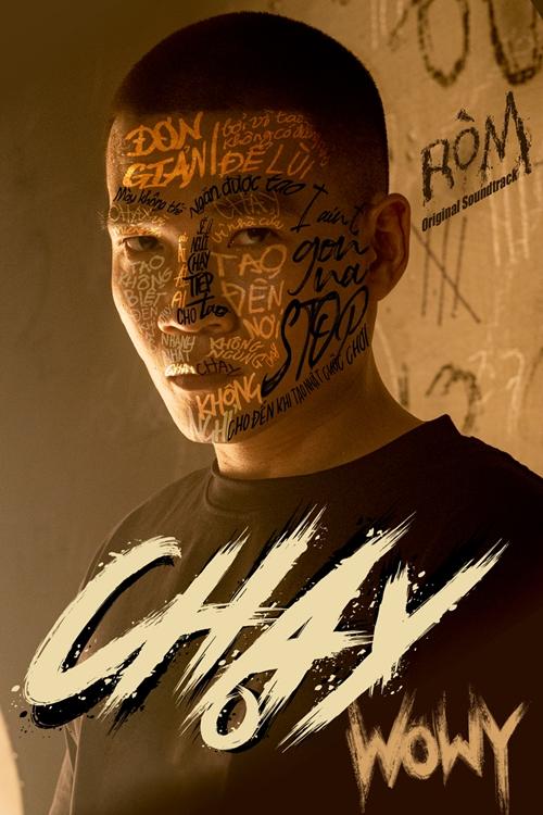 Poster ca khúc Chạy phiên bản mới của Wowy.