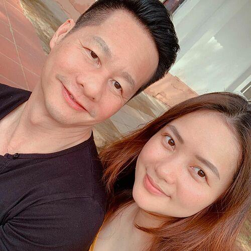 Phan Như Thảo thấy vợ chồng có nhiều nét giống nhau.