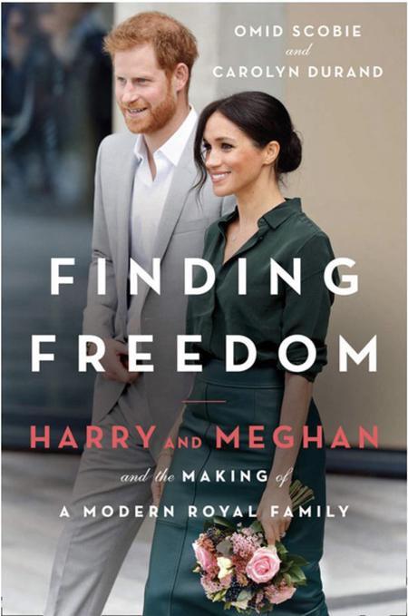 Sách Finding Freedom của nhà Sussex sẽ ra mắt vào 11/8. Ảnh: Amazon.