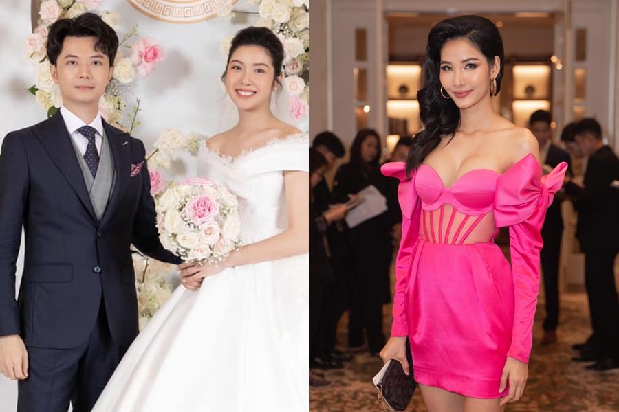 Sao Việt bị chê mặc lố khi dự đám cưới