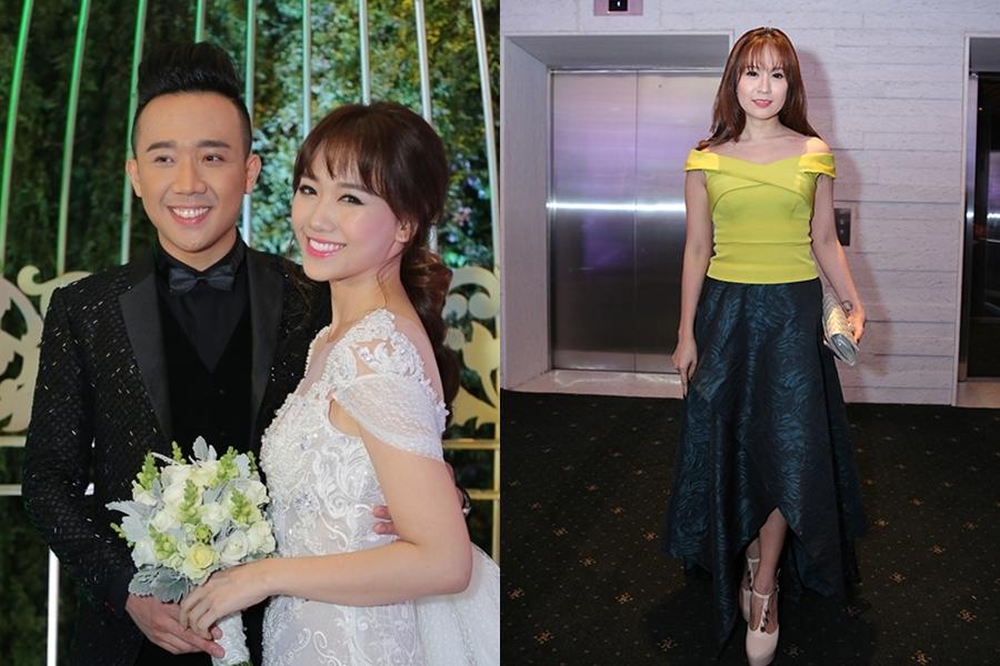 Sao Việt bị chê mặc lố khi dự đám cưới - 2