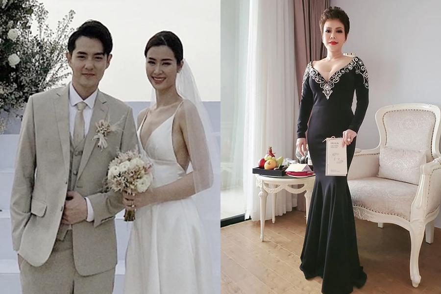 Đám cưới của Đông Nhi - Ông Cao Thắng diễn ra ở một bãi biển ở Phú Quốc. Do đó, hầu hết khách mời diện trang phục đơn giản.