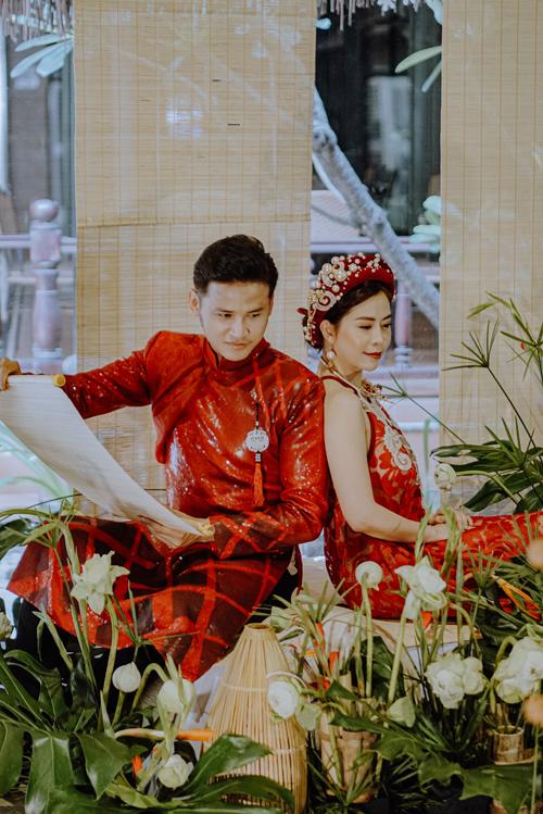 Ngoài nghề diễn viên, cả Anh Tài và bà xã còn là người mẫu ảnh nên họ diễn thoải mái, tự nhiên trước ống kính.