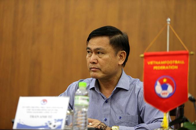 Chủ tịch VPF Trần Anh Tú. Ảnh: Hải Đăng.