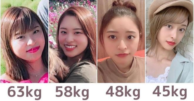Noa lột xác sau khi giảm từ 63 kg xuống còn 45 kg.