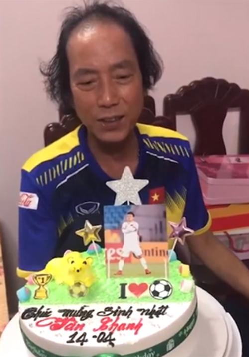 Bố Văn Thanh chúc mừng sinh nhật con trai hôm 14/4.