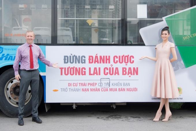 Thông điệp sẽ được quảng bá tại Hà Nội, Nghệ An và Hà Tĩnh trong vòng hai tháng trên các phương tiện giao thông cộng nhằm nâng cao ý thức cộng đồng.