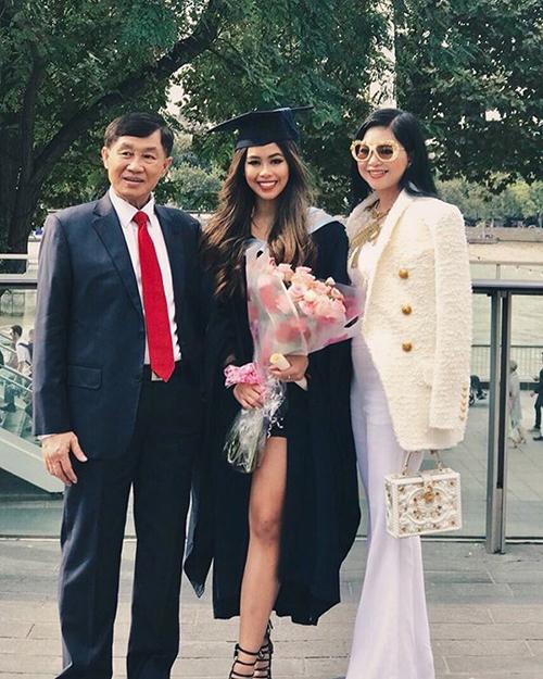 Tiên Nguyễn là con gái của doanh nhân Johnathan Hạnh Nguyễn và cựu diễn viên Thủy Tiên.