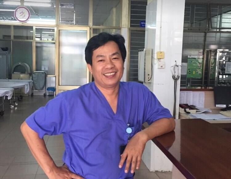 Bác sĩ Lê Văn Đương. Ảnh: Facebook nhân vật.