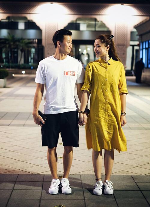 Ngoài đam mê với thể dục dụng cụ, HLV Trương Minh Sang còn rất thích chụp ảnh.
