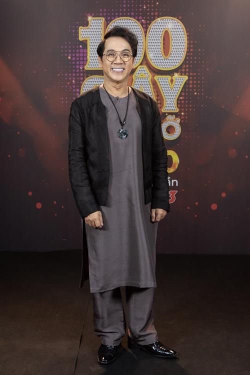 NSƯT Thành Lộc nhận lời tham gia ban bình luận vì muốn truyền lửa cho những tài năng yêu nghệ thuật.