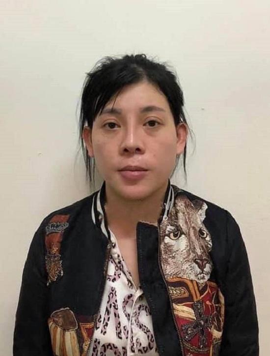 Huỳnh Lan Anh bị bắt tối ngày 30/7 tại Bình Dương. Ảnh: Công an cung cấp.