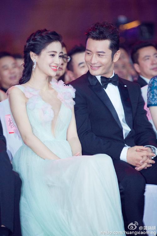 Vợ chồng Huỳnh Hiểu Minh, Angelababy khi còn hạnh phúc.