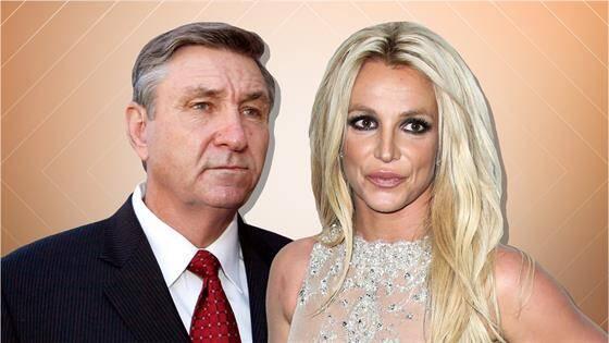 Britney Spears và bố - ông Jamie Spears.