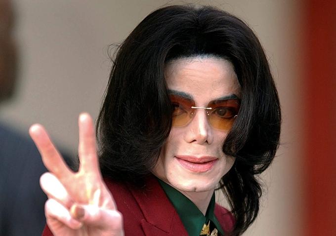Ông hoàng nhạc Pop Michael Jackson.
