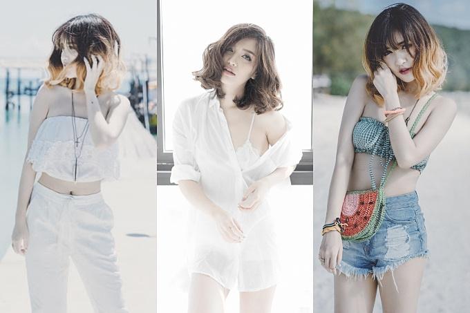 Năm 2015, Bích Phương rũ bỏ hẳn hình tượng trước đó, quyết định cắt tóc ngắn bồng bềnh và nhuộm màu sáng. Cô diện trang phục sexy hơn, giảm 6kg để phù hợp với những trang phục khoe cơ thể. Những chiếc quần ngắn luôn được cô ưu tiên diện lên người.