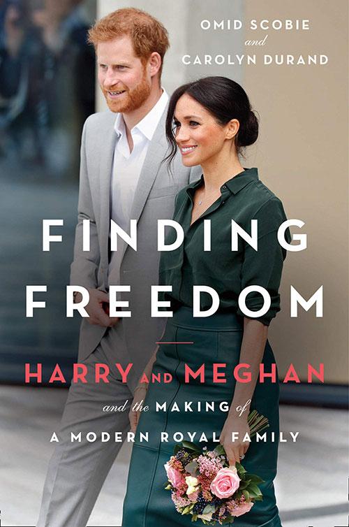 Bìa cuốn sách Finding Freedom được đăng bán trên Amazon.