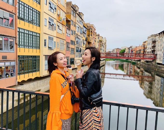 Bà cả 30 chưa phải là hết mê du lịch cùng hội bạn TVB - 12