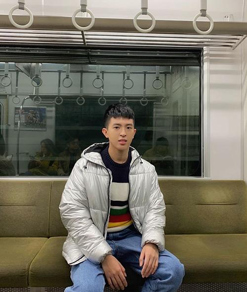Trong khoảng 2 năm trở lại đây, hoa hậu Thu Hoài cởi mở hơn trong việc chia sẻ về con trai. Chị cho biết con thừa nhận là người đồng tính khi vừa tròn 18 tuổi.