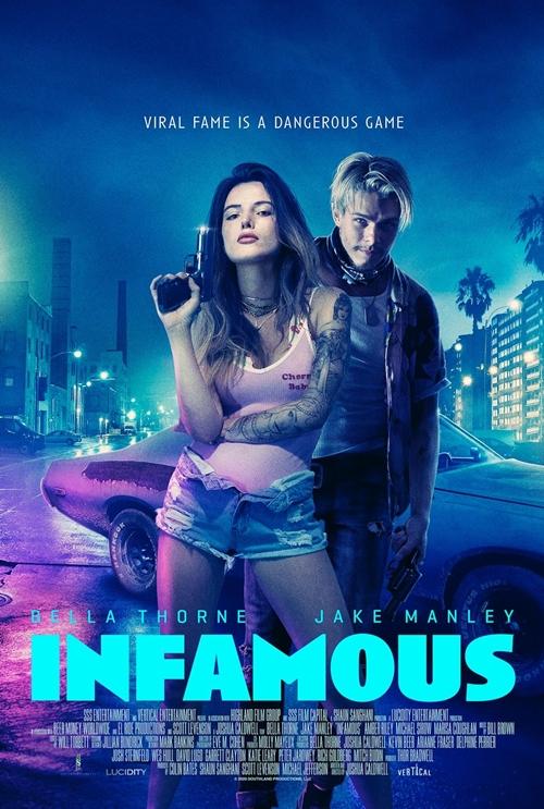 Phim Nổi loạn (Infamous) kể về trải nghiệm nguy hiểm mà cô gái nổi loạn Arielle dấn thân cùng tay tội phạm Dean. Phim ra rạp từ 14/8.