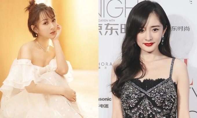 Dương Tử (trái) và Dương Mịch được chọn vào dự án phim đặc biệt của Triệu Vy.
