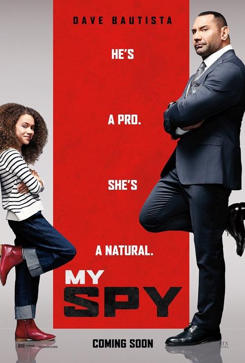 Jason Jones (JJ) là điệp viên CIA kỳ cựu. Một lần thực hiện nhiệm vụ, anh bị cô bé Sophie phát hiện và uy hiếp lật tẩy thân phận của anh nếu không gia sư cho cô bé kỹ thuật điệp viên. Phim hành động - hài Điệp viên siêu lầy (My Spy) dự kiến chiếu rạp từ 14/8, có sự tham gia của Dave Bautista - ngôi sao phim Vệ binh dải ngân hà.